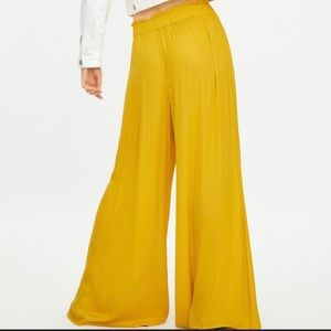New Unused Zara Wide Leg Flowy Pant Sz XL